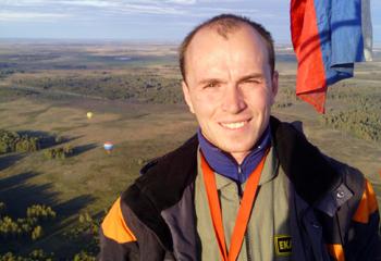 Юлиан Титов пилот аэростата