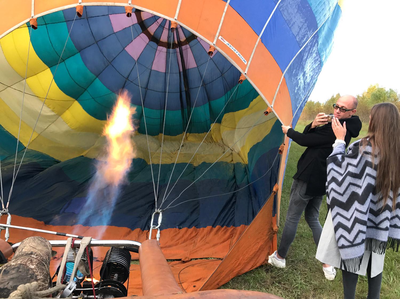 надуваем воздушный шар